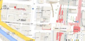 千石電商の地図