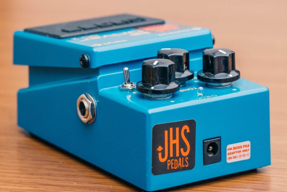 JHSがMODしたBD-2(ブルースドライバー)をレビュー!ファズのモードが搭載