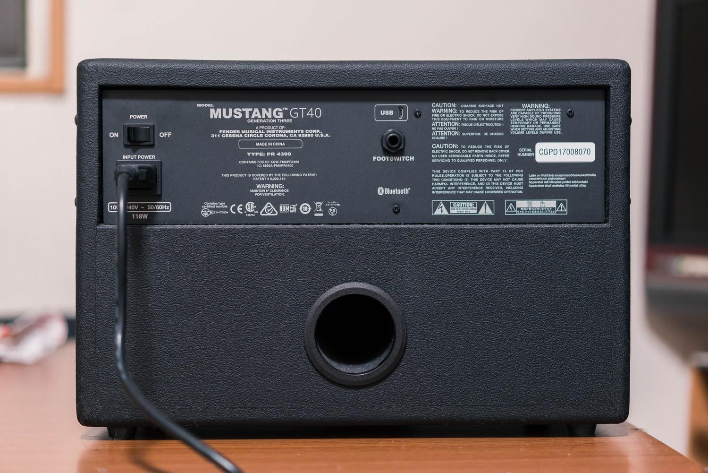 Mustang Gt 40の背面画像