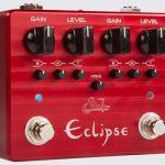Suhrからオーバードライブ「Eclipse」登場。2つの独立回路をもつペダル