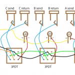 個別にオンオフできる3ループスイッチャーの自作の方法